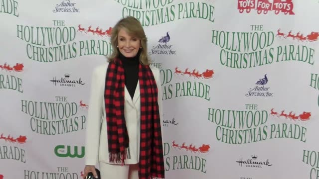 deidre hall at the 86th annual hollywood christmas parade on november 26 2017 in hollywood california - deidre hall stock videos and b-roll footage