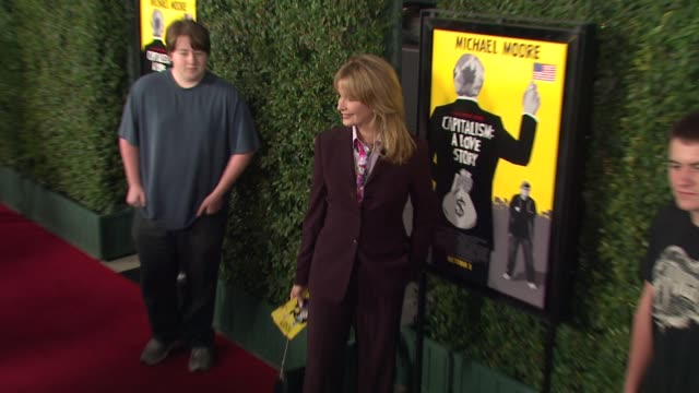 deidre hall at the 'capitalism a love story special screening at beverly hills ca - deidre hall stock videos and b-roll footage