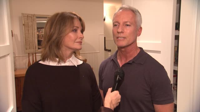 interview deidre hall greg meng on what brought them to the event their connection to hearing loss or tinnitushearing health foundation the path to a... - deidre hall stock videos and b-roll footage