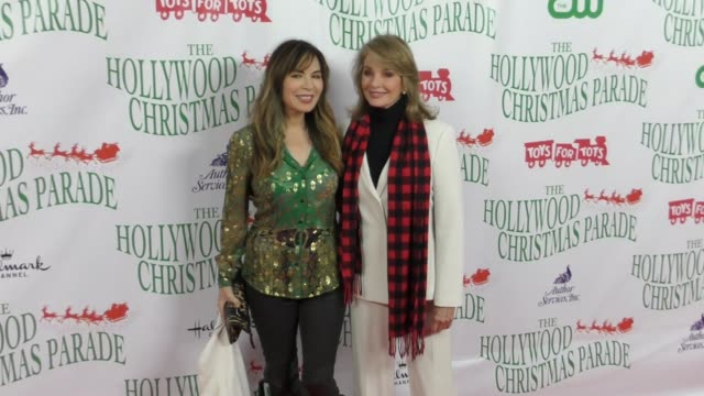 deidre hall lauren koslow at the 86th annual hollywood christmas parade on november 26 2017 in hollywood california - deidre hall stock videos and b-roll footage