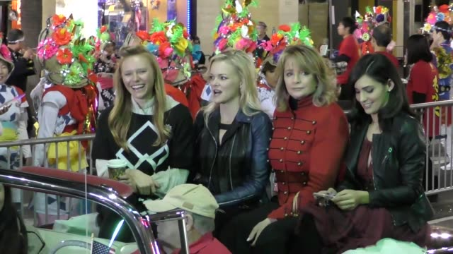 deidre hall martha madison camila banus marci miller on hollywood blvd at the 85th annual hollywood christmas parade in hollywood in celebrity... - deidre hall stock videos and b-roll footage