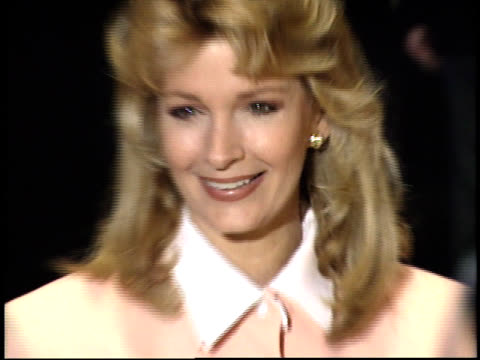 deidre hall poses for photographs - deidre hall stock videos and b-roll footage