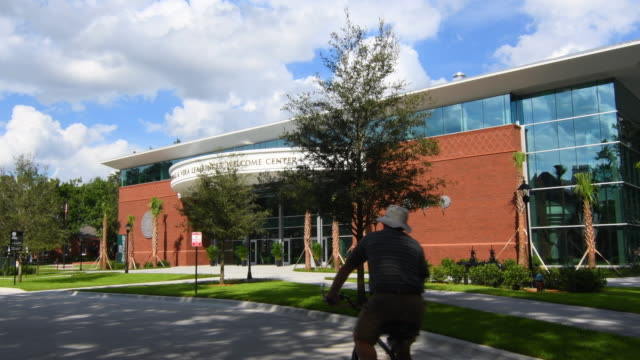 Deland Florida Stetson University college Marshall & Veralea Rinkert Welcome Center  in small town education, 4K