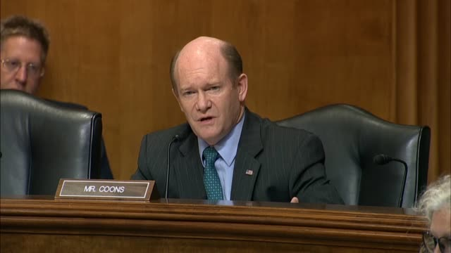 Delaware Senator Chris Coons asks Secretary of State Mike Pompeo to advise President Donald Trump to rescind a White House invitation to Russian...