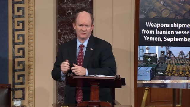 Delaware Senator Chris Coons says that the Iran nuclear deal is a pressing and ongoing issue for the nation as though it is not at the top of the...