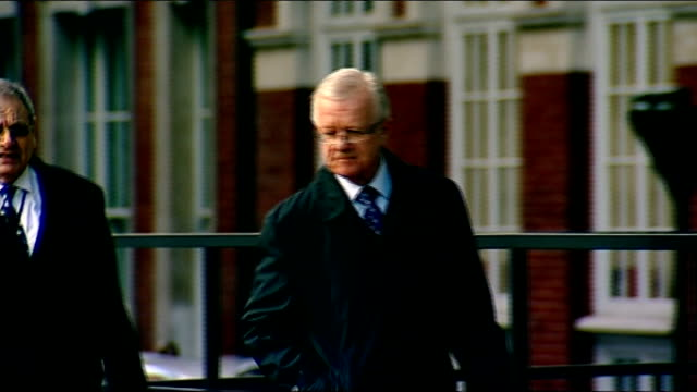 day's reactions LIB London EXT Sir John Chilcot arriving at inquiry