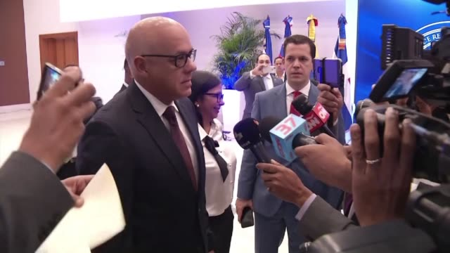 Delegates from the Venezuelan government and opposition meet in the Dominican Republic for a third round of talks on resolving the country's...