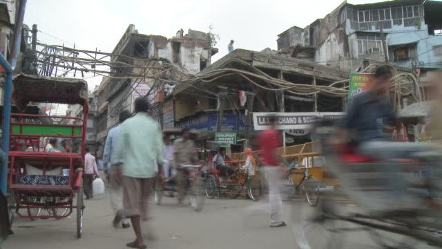 Delhi Intersection Time Lapse