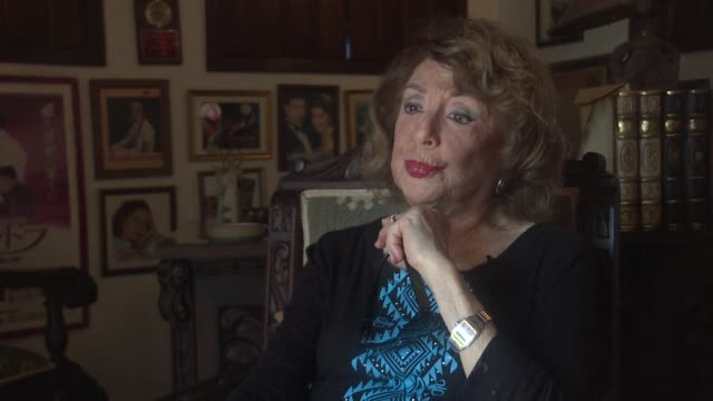 delia fiallo a 94 year old cuban writer known across latin america as the mother of soap opera looks back at her success - soap opera video stock e b–roll