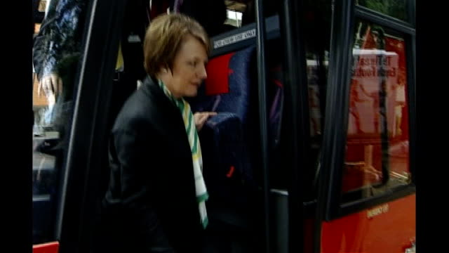 delia smith off coach wearing norwich city football scarf - delia smith stock videos and b-roll footage