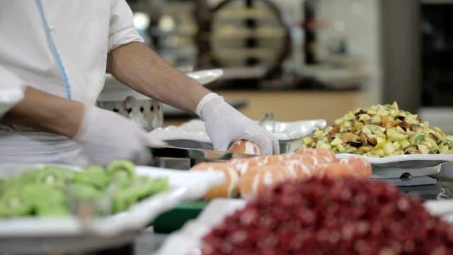 vídeos y material grabado en eventos de stock de frutas delicioso aperitivo - gala