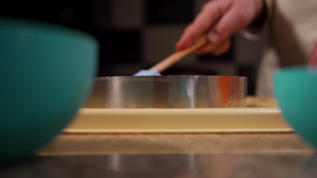 delicious cake making - crumb stock videos & royalty-free footage