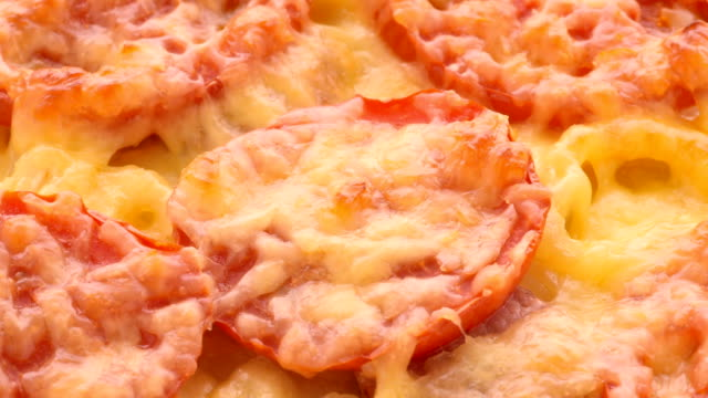 delicious pizza - spinning point of view stock videos & royalty-free footage