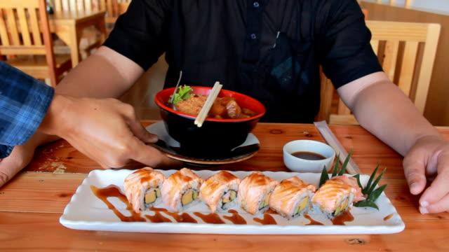 Delicious sushi & Sashimi