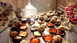 Delicious Wedding Reception Candy Dessert Table