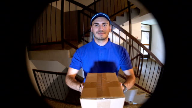 delivering package - delivering stock videos & royalty-free footage