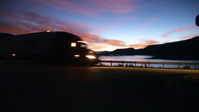 delivery vehicles - gunnison stock videos & royalty-free footage