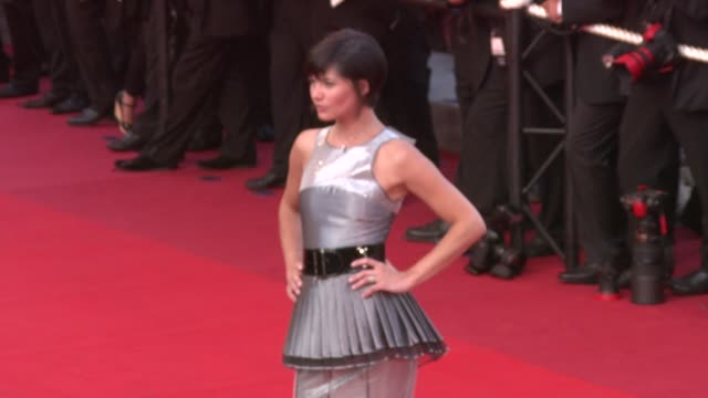 delphine chaneac at the cannes film festival 2009 the imaginarium of dr parnassus steps at cannes - 62 ° festival internazionale del cinema di cannes video stock e b–roll