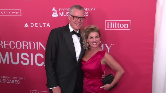 delta air lines ceo ed bastian at musicares grammys tribute at radio city music hall on january 26 2018 in new york city - musicares foundation stock videos & royalty-free footage