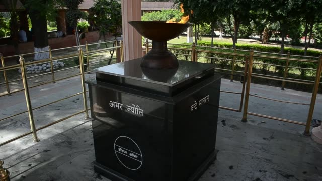 demands for apology continue 100 years after amritsar massacre india punjab amritsar jallianwala memorial ext people gathered outside martyrs' well... - martyr stock videos & royalty-free footage