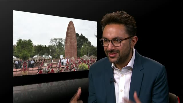Demands for apology continue 100 years after Amritsar massacre ENGLAND INT Sathnam Sanghera interview SOT