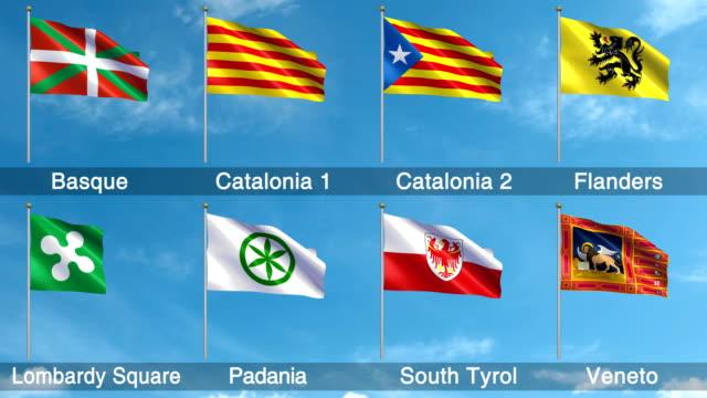 Forderungen nach Unabhängigkeit gesetzten Flags + Alpha-Kanal (Loopable)