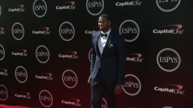 demarcus cousins at the 2014 espy awards in los angeles ca - espy awards stock videos & royalty-free footage