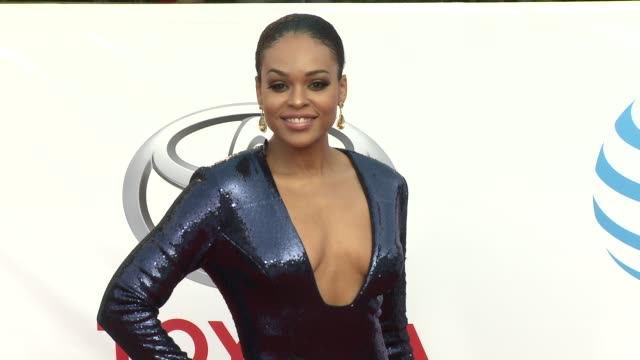 Demetria McKinney at the 49th NAACP Image Awards at Pasadena Civic Auditorium on January 15 2018 in Pasadena California