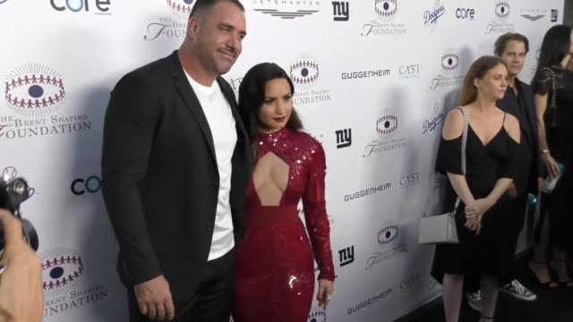 Demi Lovato and Mike Bayer at The Annual Brent Shapiro Foundation For Alcohol And Drug Prevention Summer Spectacular on September 09 2017 in Beverly...
