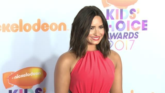 Demi Lovato at Galen Center on March 11 2017 in Los Angeles California