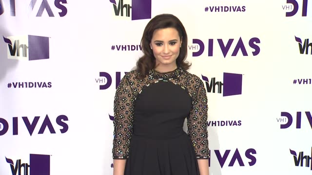 demi lovato at vh1 divas 2012 on in los angeles ca - vh1 divas stock videos and b-roll footage