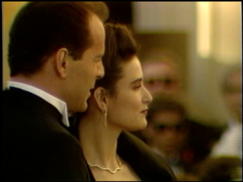 Demi Moore at the 1989 Academy Awards at the Shrine Auditorium in Los Angeles California on March 29 1989