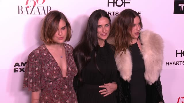 Demi Moore at the Harper's BAZAAR Celebrates 150 Most Fashionable Women at Sunset Tower on January 27 2017 in West Hollywood California