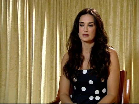demi moore on how she laughs easily at the 59th berlin film festival: happy tears interviews at berlin . - demi moore stock videos & royalty-free footage