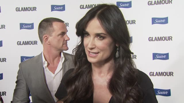 Demi Moore on the project if she enjoyed directing at the Glamour Reel Moments at Los Angeles CA