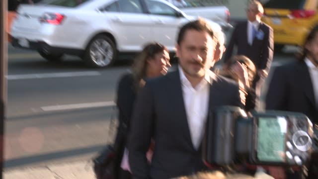 """demian bichir and diego luna - """"cesar chavez"""" los angeles premiere at tcl chinese theatre on march 20, 2014 in hollywood, california. - tcl chinese theatre stock videos & royalty-free footage"""