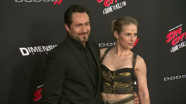 Demian Bichir at Sin City A Dame To Kill For Los Angeles Premiere at TCL Chinese Theatre on August 19 2014 in Hollywood California