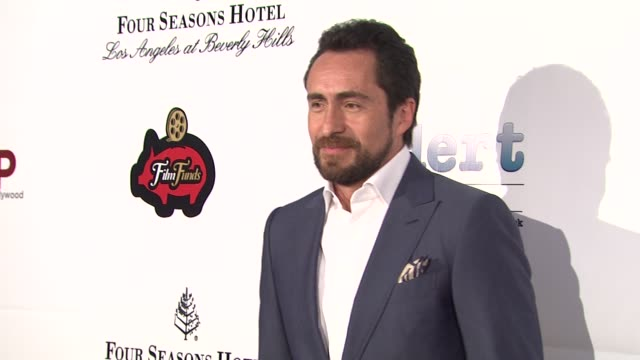 demian bichir at thewrap.com pre-oscar party on 2/22/2012 in beverly hills, ca. - oscar party stock videos & royalty-free footage