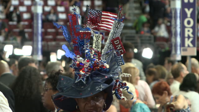 Democratic National Convention takes place female supporters from around the country gather in Philadelphia