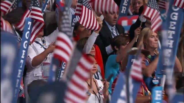vídeos de stock, filmes e b-roll de democratic party presidential candidate hillary clinton says at the 2016 democratic national convention that simply caring is not enough describing... - nomeação