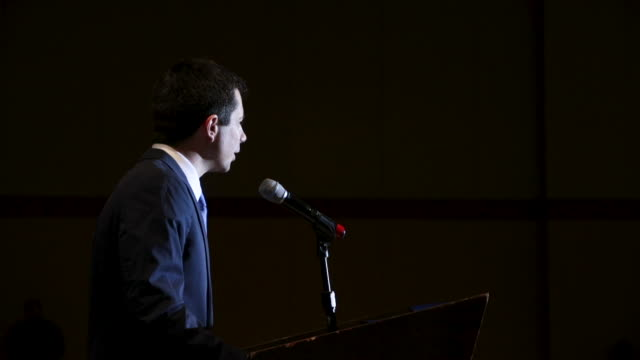 democratic presidential candidate and south bend, indiana mayor pete buttigieg speaks at the rainbow push coalition annual international convention... - candidate stock videos & royalty-free footage