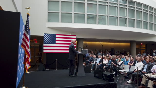 NY: Presidential Candidate Joe Biden Delivers Foreign Policy Address In New York