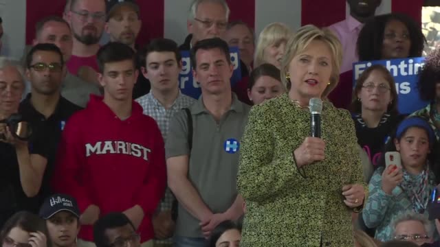 vídeos de stock, filmes e b-roll de democratic presidential contender hillary clinton emphasizes her work as new york's state senator in the aftermath of 9/11 striking a chord among... - chord