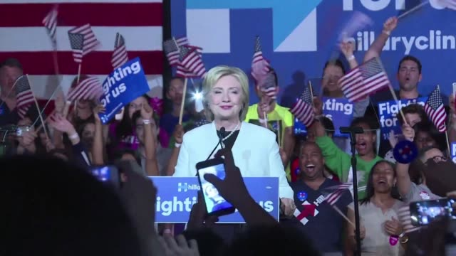 Democratic presidential hopeful Hillary Clinton gets closer to the nomination with big wins on Super Tuesday