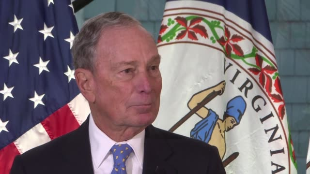 democratic presidential hopeful michael bloomberg announces his to retire all us coal plants by 2030 - presidential election stock videos & royalty-free footage