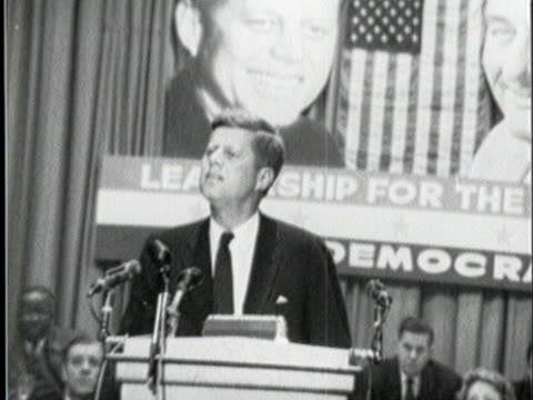 democratic presidential nominee john f kennedy talks about advancements in agriculture - (war or terrorism or election or government or illness or news event or speech or politics or politician or conflict or military or extreme weather or business or economy) and not usa video stock e b–roll