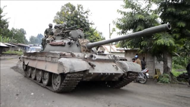 Democratic Republic of Congo troops on Monday drove M23 rebels from key hilltop positions in the east of the country pushing on with their assault...