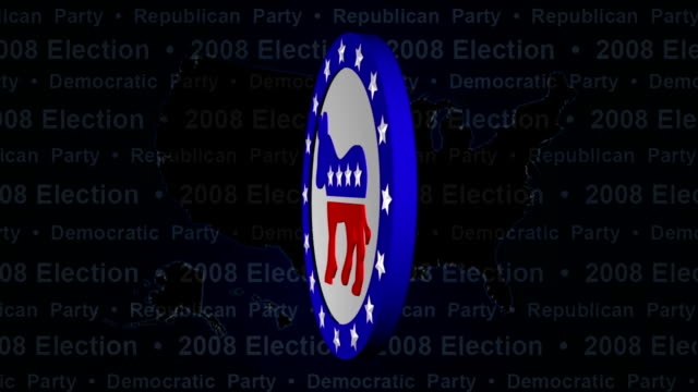 democrats & republicans election votes - political party stock videos & royalty-free footage