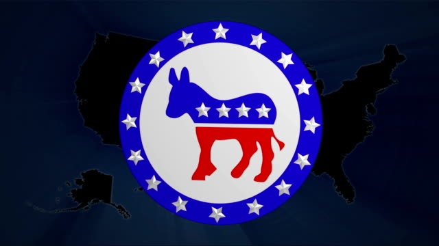democrats & republicans election votes - us republican party stock videos & royalty-free footage