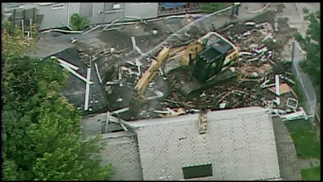 Demolishing of Ariel Castro Home